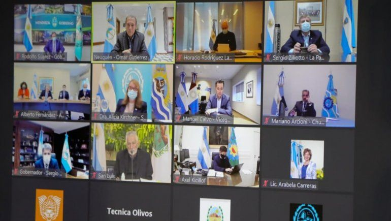 Gutiérrez se reunió con el Presidente para definir nuevas medidas contra el COVID