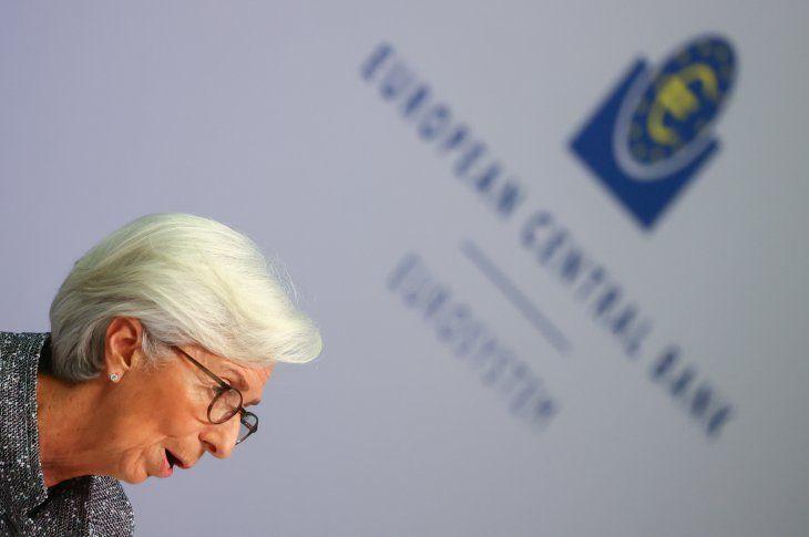 La presidenta del Banco Central Europeo (BCE)