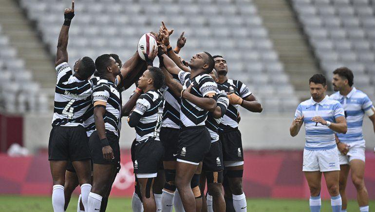 Los Pumas perdieron con Fiji y van por el bronce ante Gran Bretaña