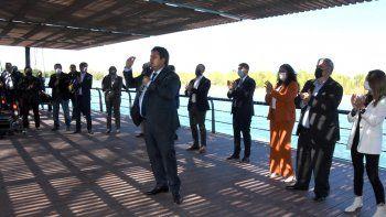 Gaido anunció 3 nuevos espacios deportivos y más Paseo Costero