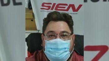 medico del sien lleva mas de 45 dias internado con covid y piden donaciones