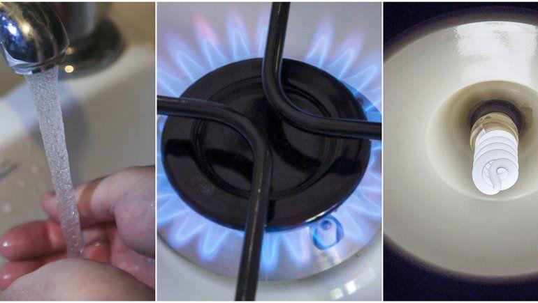 Oficial: congelan las tarifas de luz, gas y agua por 90 días