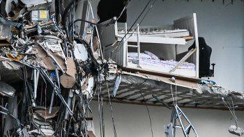 Hay cuatro argentinos desaparecidos tras el derrumbe en Miami