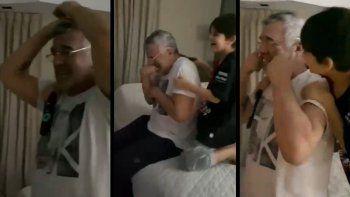 del llanto de dady brieva a la ambulancia antiprotocolo: festejos virales de colon campeon
