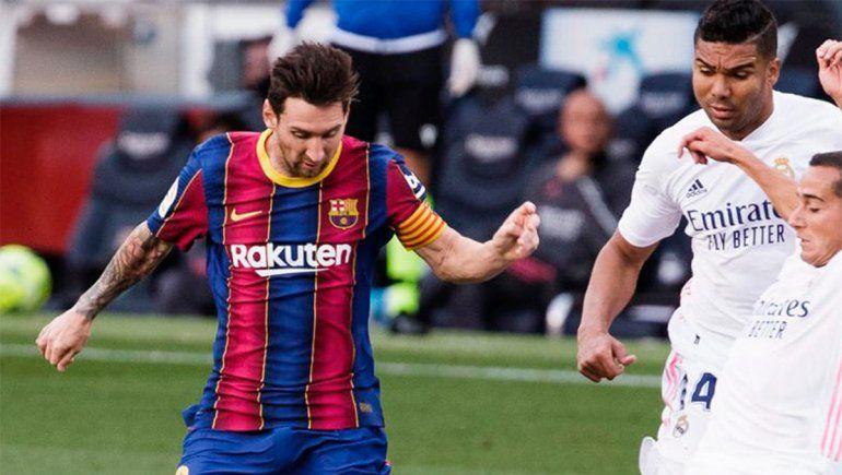 Barcelona perdió en el Camp Nou ante el Real Madrid   Foto: @FCBarcelona (vía Twitter)