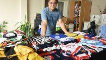 la historia de una pasion por las camisetas de futbol