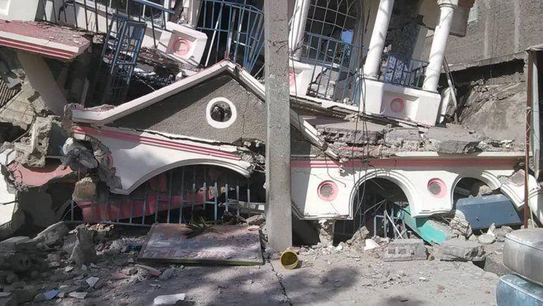 Sismo en Haití: más de 20 muertos, decenas de heridos y destrucción por todos lados