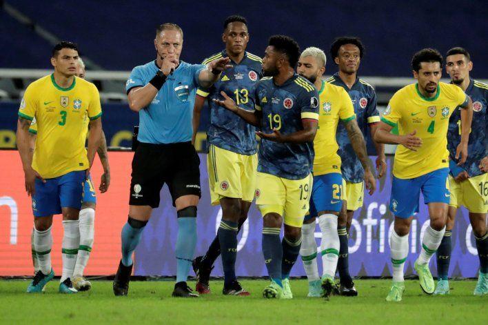 Colombia pidió la suspensión de Pitana: ¿Qué respondió Conmebol?