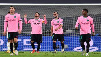 Messi sigue haciendo goles desde el punto penal