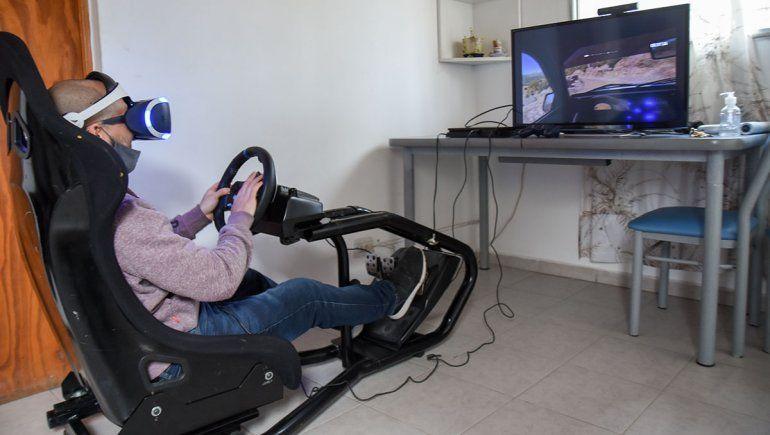 El simulador de carreras es la estrella en la realidad virtual.