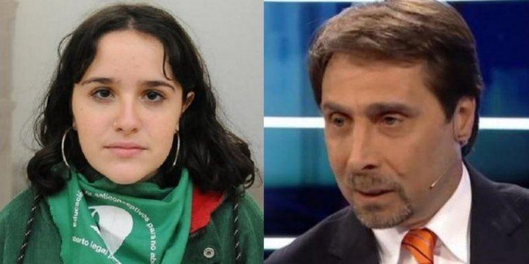 Feinmann destrozó a Ofelia Fernández pero dijo que la quiere
