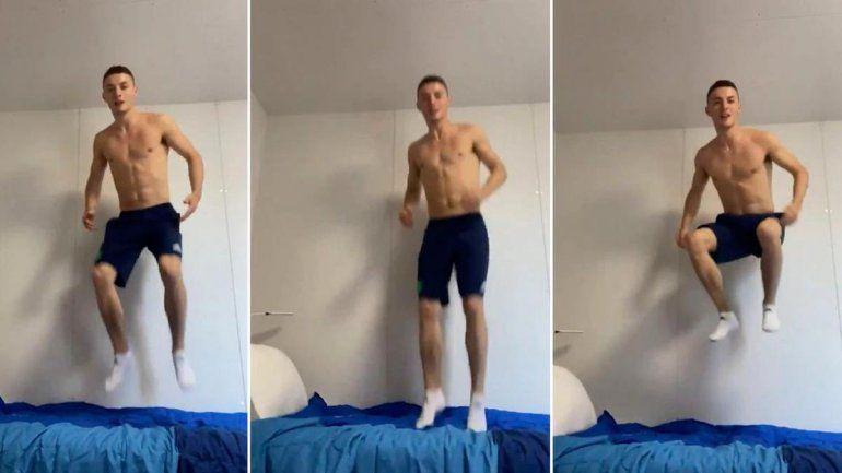 Un gimnasta probó las camas anti sexo y derribó el mito