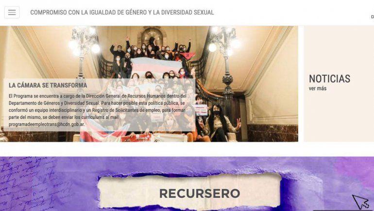 Diputados lanza un portal con información legislativa de género