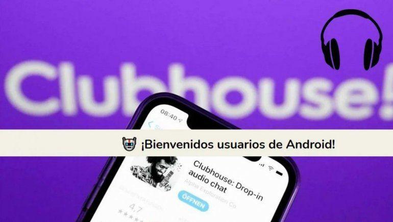 Clubhouse estaba disponible para iOS solamente
