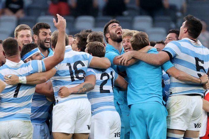Con 25 puntos de Sánchez, Los Pumas consiguieron hacer historia en la madrugada Argentina.