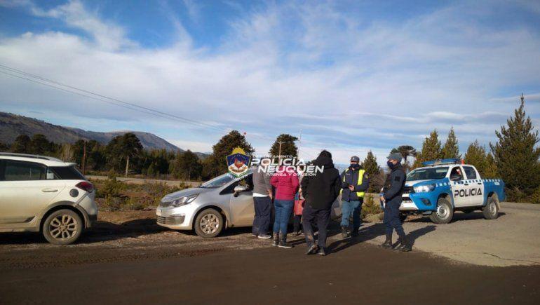 Atrapan a chilenos que ingresaron a Argentina por un paso no habilitado
