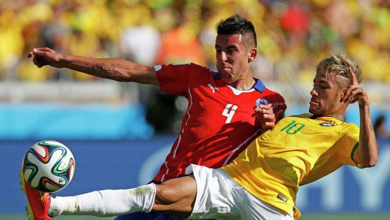 Brasil y Chile disputarán el cruce mas fuerte de los cuartos de final de la Copa América.
