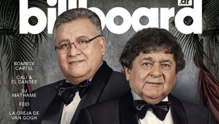 Histórico: Los Palmeras llegaron a la tapa de la revista Billboard