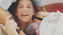 juana repetto compartio las primeras imagenes de su segundo hijo