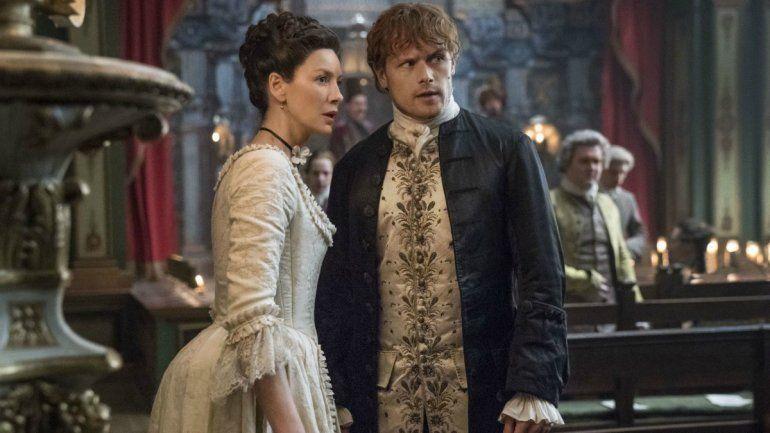 Outlander: Sam Heughan confiesa qué le gusta de Caitriona