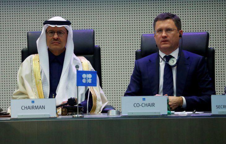 FOTO DE ARCHIVO: El ministro de Energía de Arabia Saudí