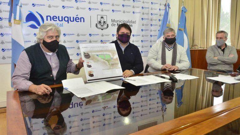 La Muni se suma a la urbanización de 816 lotes en la meseta