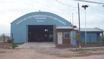 El particular rescate que hicieron bomberos en Centenario