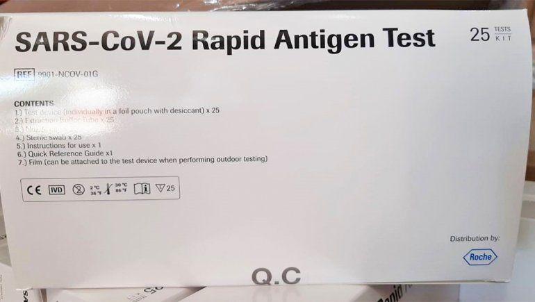 Neuquén sumó 30 mil test rápidos para detectar el COVID