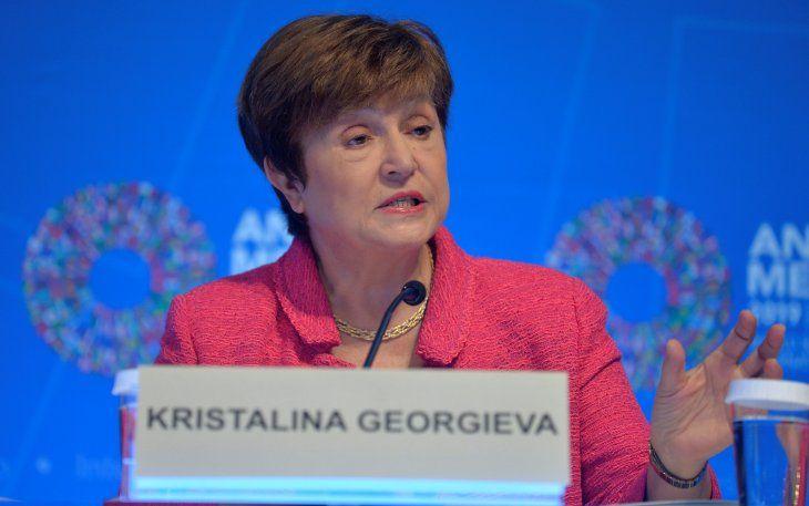 La directora gerente del Fondo Monetario Internacional (FMI)