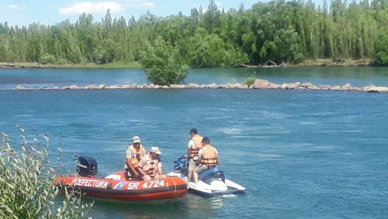 Hallan un cuerpo en el río: creen que es el joven desaparecido el domingo en el Limay