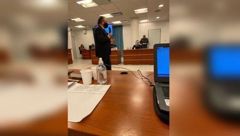 Antes de los alegatos, Maragel tomó la palabra y negó las acusaciones en su contra.
