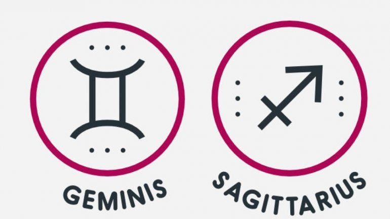 Signos compatibles: cómo se llevan Sagitario y Géminis