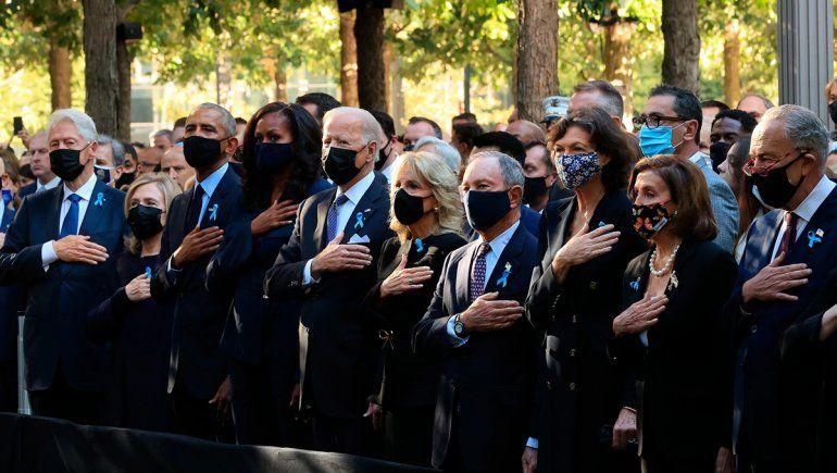 Estados Unidos recordó a las víctimas fatales del 11-S