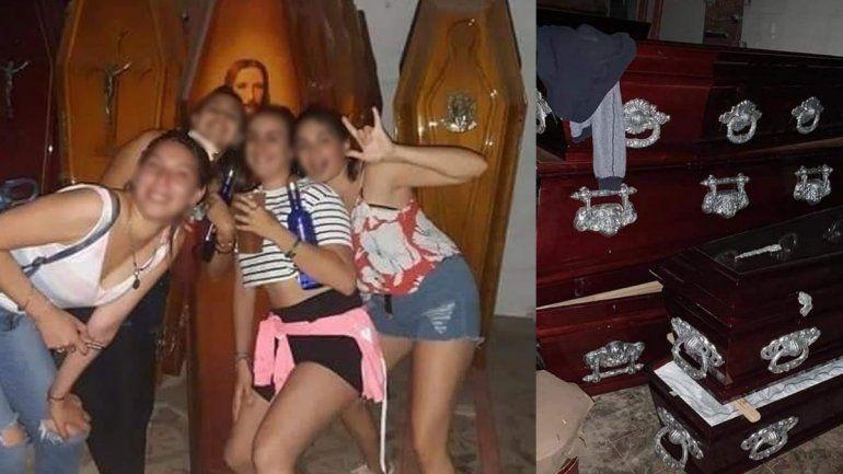 Las fotos de la fiesta generaron indignación en Santa Fe, en medio del pico de contagios.