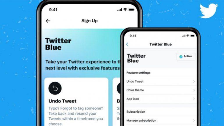 El servicio de suscripción Twitter Blue se lanza en Australia y Canadá