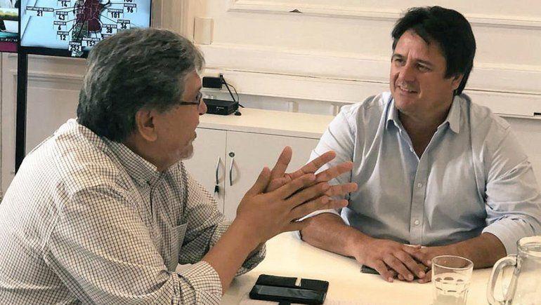 Mariano Gaido acordó trabajo en conjunto con funcionarios nacionales