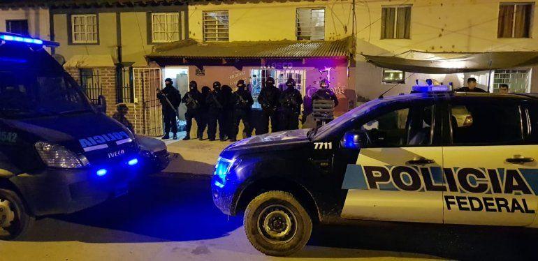 La Policía Federal secuestró droga en barrio San Lorenzo