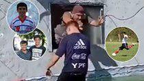 Papurri, un ex futbolista que brilla con los video.s
