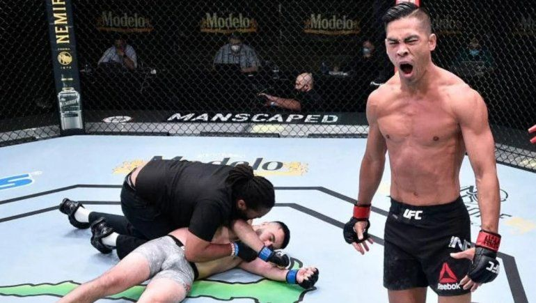 A lo Tyson: el fulminante nocaut en la UFC que genera escalofríos