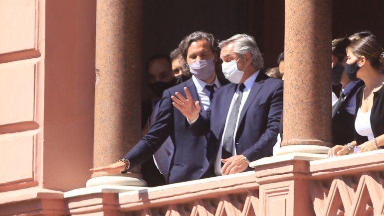 El Presidente y el velatorio de Diego: Lo único que hice fue respetar a la familia