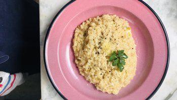 receta: risotto clasico italiano