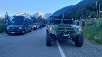 el gobierno nacional enviara fuerzas federales a la comarca andina