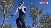 un sueno olimpico: cipoleno va a competir en los juegos universitarios de esqui