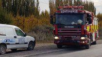 se rompio un cano de gas y bomberos piden respuestas a camuzzi por las demoras