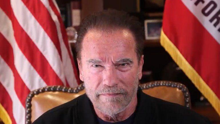 Schwarzenegger bancó a Biden y tildó a los Proud Boys de nazis