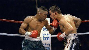 El boxeador Frankie Randall murió a los 54 años