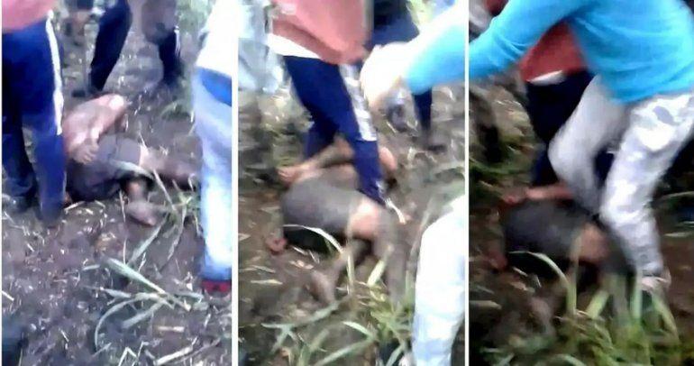 Decenas de vecinos, al encontrarse con el acusado de matar a Abigail, lo lincharon: Guaymás murió por los golpes recibidos.
