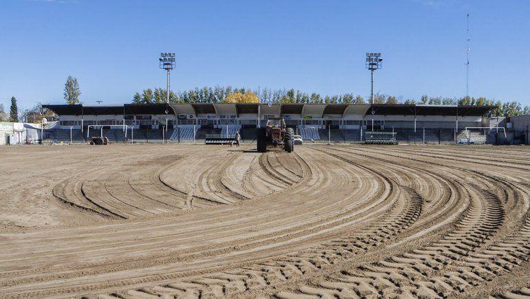 El terreno de La Visera está casi listo