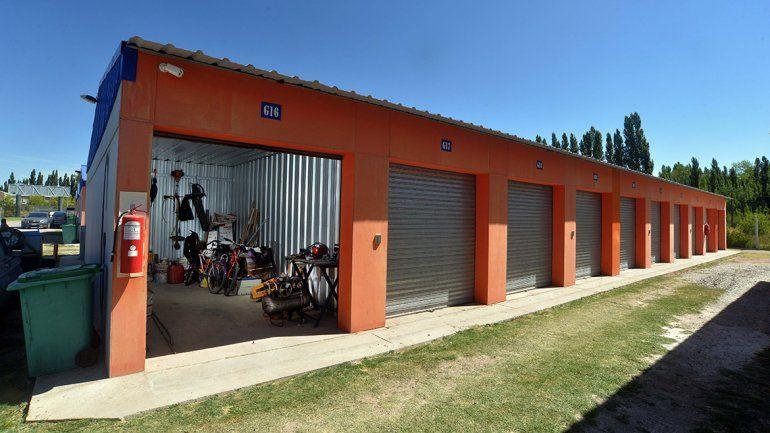 El alquiler de boxes desembarcó en Neuquén