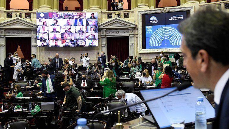 Diputados aprobó el Plan de los Mil Días